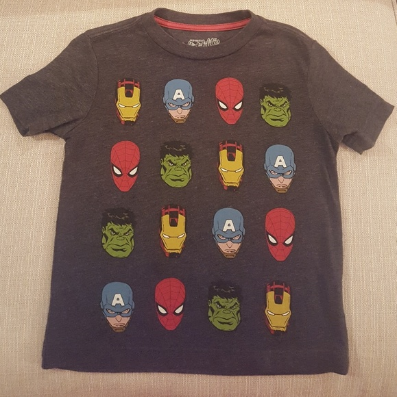 Old Navy Shirts Tops Collectibles Marvel Tee Size 5 Poshmark